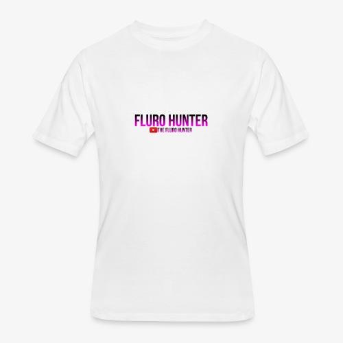 The Fluro Hunter Black And Purple Gradient - Men's 50/50 T-Shirt