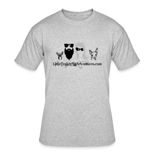LTBA Heads Logo - Men's 50/50 T-Shirt