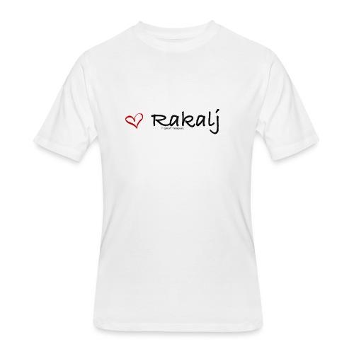 I love Rakalj - Men's 50/50 T-Shirt