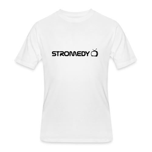 White Stromedy T-Shirt - Men's 50/50 T-Shirt