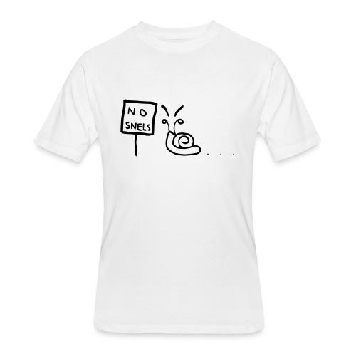 No Snels Original - Men's 50/50 T-Shirt