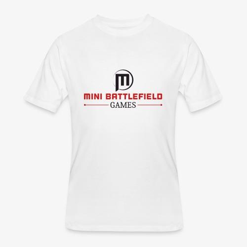 Mini Battlefield Games Logo - Men's 50/50 T-Shirt