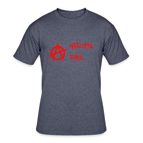 Anarchy Army LOGO - Men's 50/50 T-Shirt