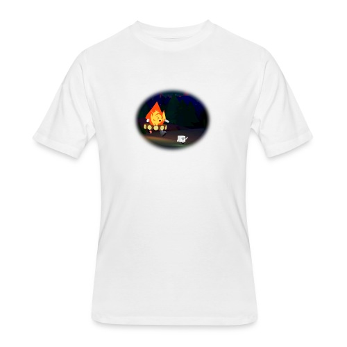 'Round the Campfire - Men's 50/50 T-Shirt