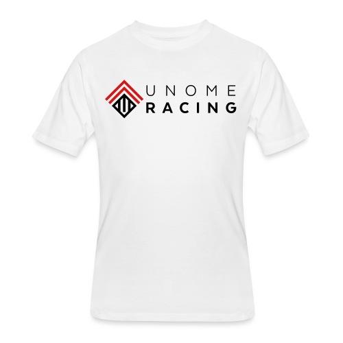 unome racing logo - Men's 50/50 T-Shirt