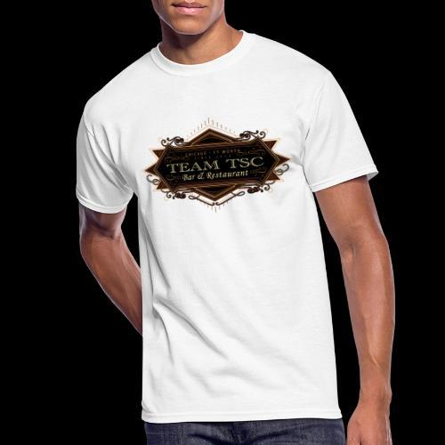 teamTSC badge03 Bar - Men's 50/50 T-Shirt
