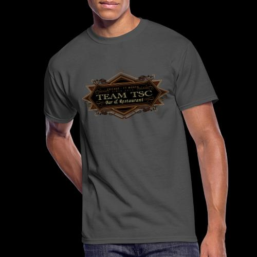 teamTSC badge03 Bar - Men's 50/50 T-Shirt