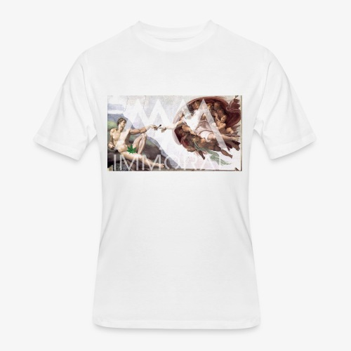 ADAMJOINT - Men's 50/50 T-Shirt