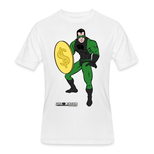 Superhero 4 - Men's 50/50 T-Shirt