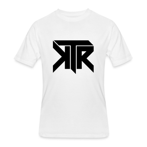 KTR Logo Black - Men's 50/50 T-Shirt