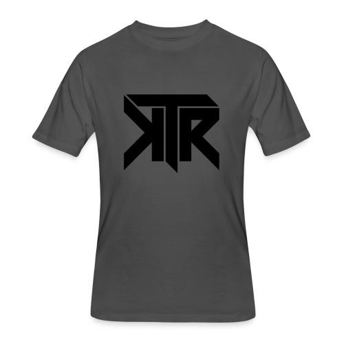 KTR Logo Black - Men's 50/50 T-Shirt
