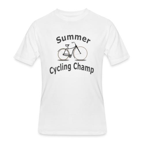 Summer Cycling Champ - Men's 50/50 T-Shirt