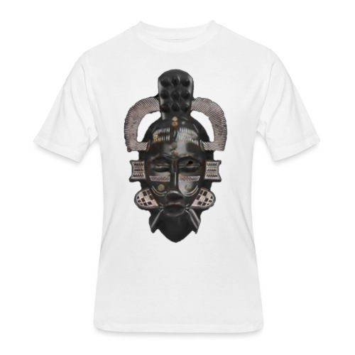 african mask 1 - Men's 50/50 T-Shirt