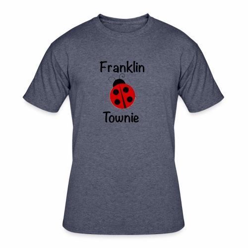 Franklin Townie Ladybug - Men's 50/50 T-Shirt