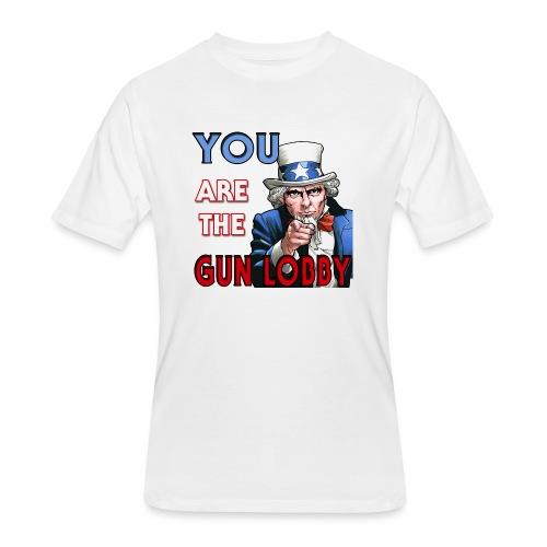 YOU Are The Gun Lobby - Men's 50/50 T-Shirt
