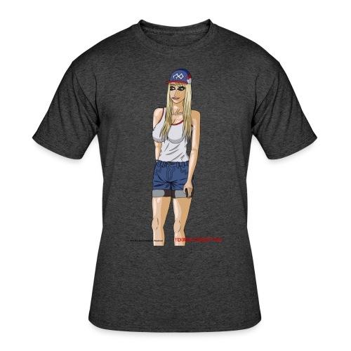 Gina Character Design - Men's 50/50 T-Shirt