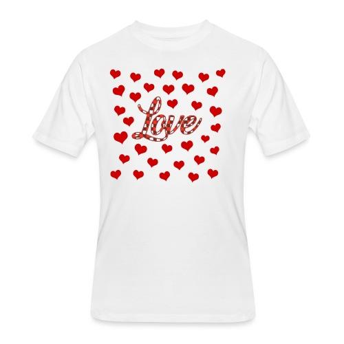 VALENTINES DAY GRAPHIC 3 - Men's 50/50 T-Shirt