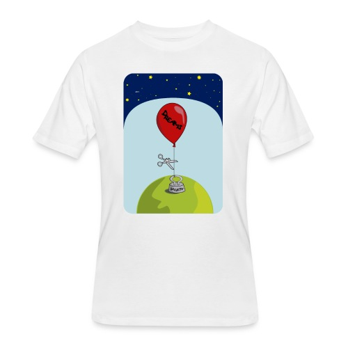 dreams balloon and society 2018 - Men's 50/50 T-Shirt