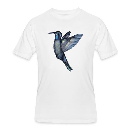 Hummingbird in flight - Men's 50/50 T-Shirt