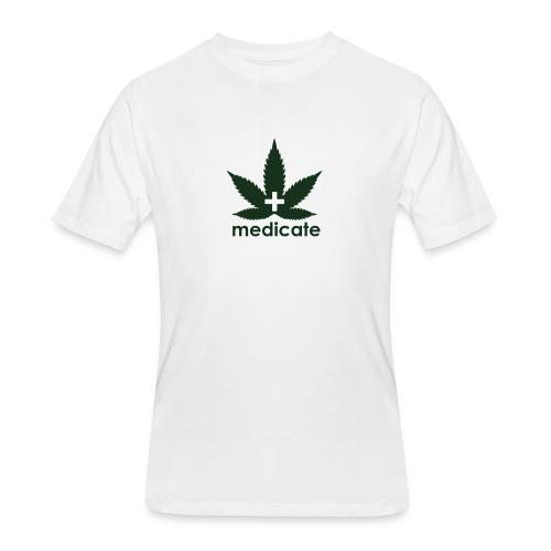 Medicate Supporter - Men's 50/50 T-Shirt