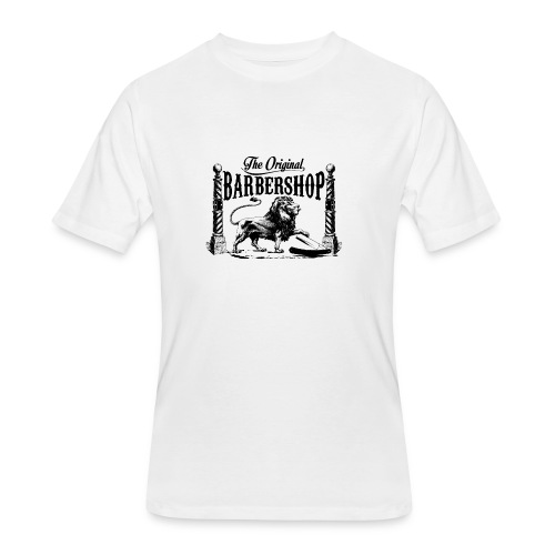 The Original Barbershop - Men's 50/50 T-Shirt