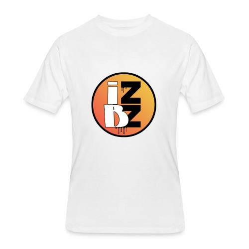 IZBZ Circle Logo - Men's 50/50 T-Shirt