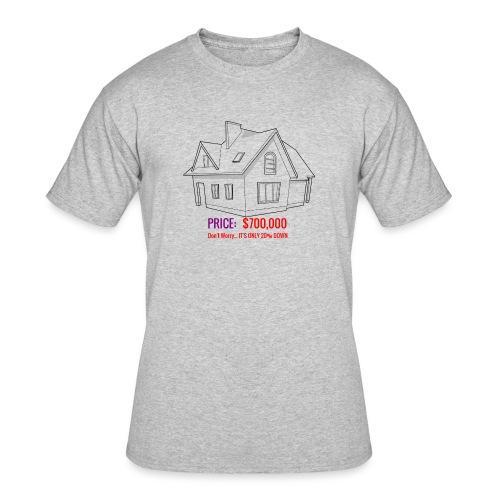 Fannie & Freddie Joke - Men's 50/50 T-Shirt