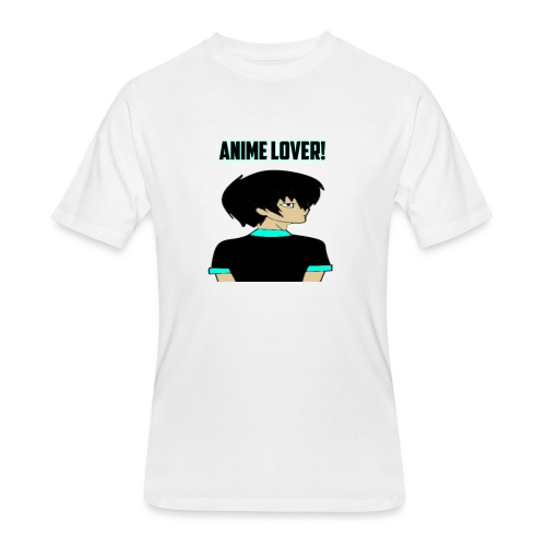 anime lover - Men's 50/50 T-Shirt