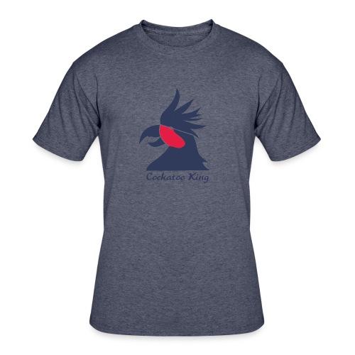 Cockatoo Logo - Men's 50/50 T-Shirt