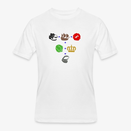 walrus and the carpenter - Men's 50/50 T-Shirt