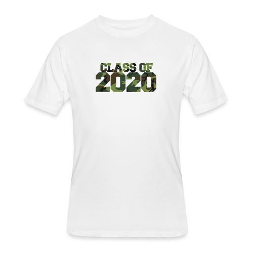 Class of 2020 Camo grad logo - Men's 50/50 T-Shirt