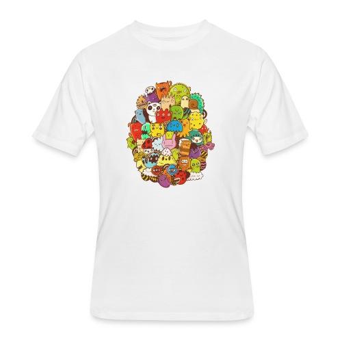 Doodle for a poodle - Men's 50/50 T-Shirt