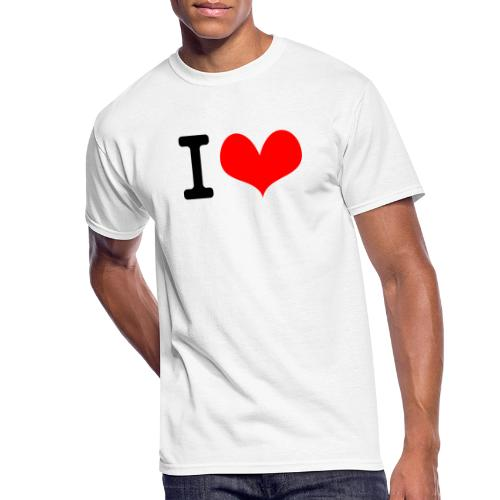 I Love what - Men's 50/50 T-Shirt