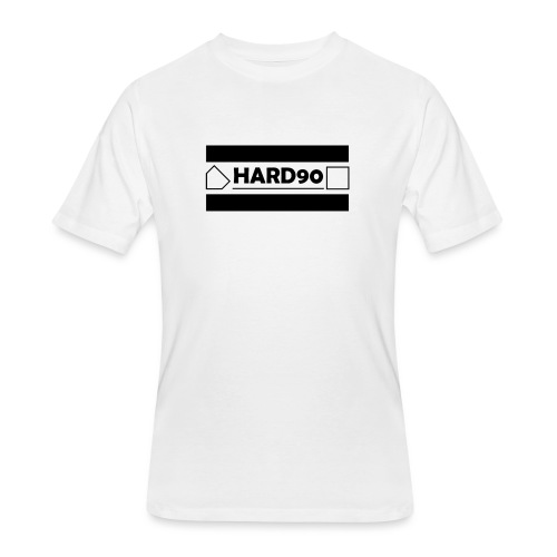 Hard 90 Logo - Men's 50/50 T-Shirt