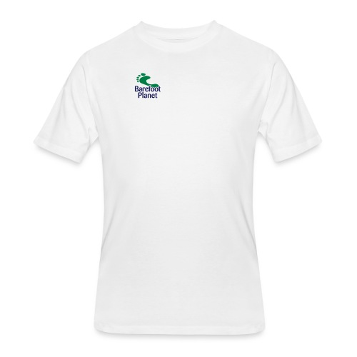 Get Out & Run Barefoot Women's T-Shirts - Men's 50/50 T-Shirt