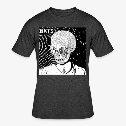 BATS TRUTHLESS DESIGN BY HAMZART - Men's 50/50 T-Shirt