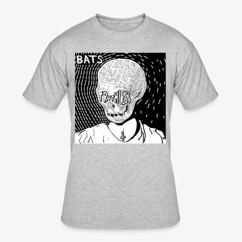 BATS TRUTHLESS DESIGN BY HAMZART - Men's 50/50 T-Shirt
