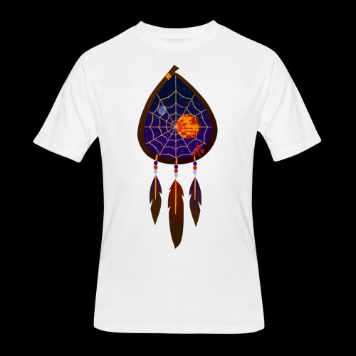 Dreamcatcher Space Inspiring 2 - Men's 50/50 T-Shirt