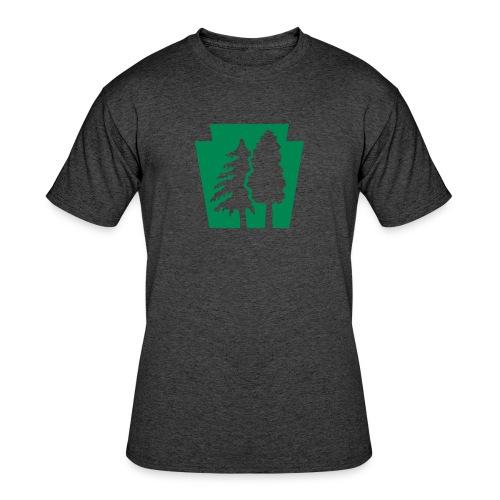 PA Keystone w/trees - Men's 50/50 T-Shirt