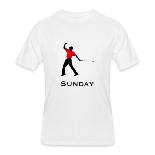 Sunday Red - Men's 50/50 T-Shirt