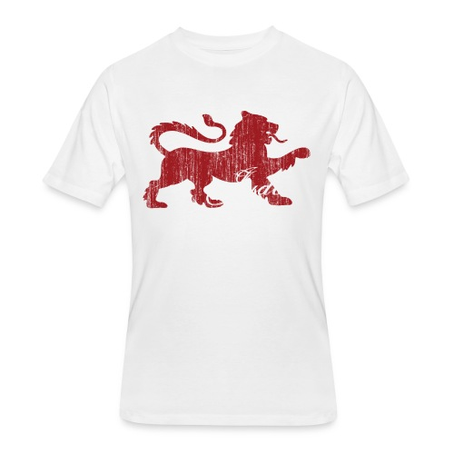 The Lion of Judah - Men's 50/50 T-Shirt