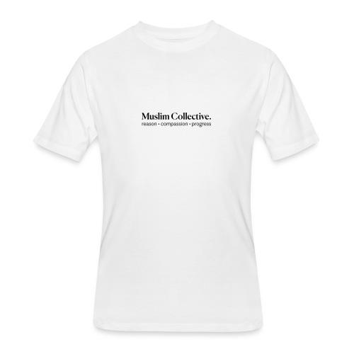 Muslim Collective Logo + tagline - Men's 50/50 T-Shirt