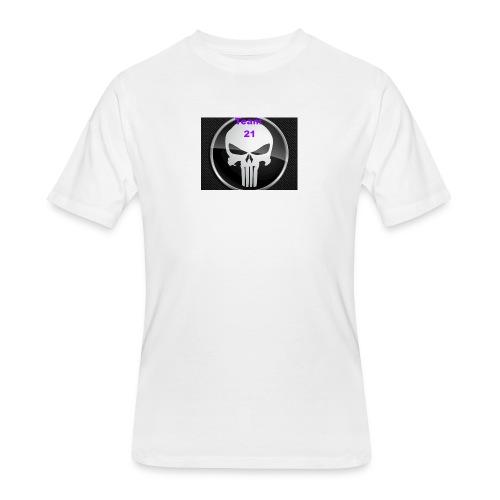Team 21 white - Men's 50/50 T-Shirt