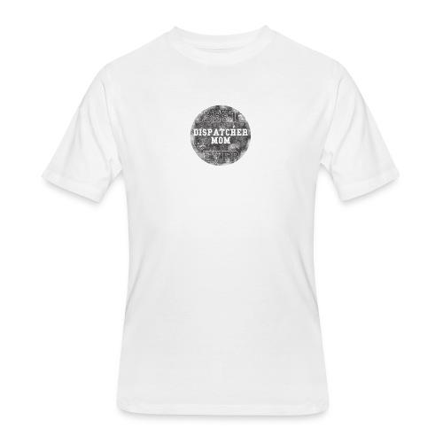 Police Dispatcher T Shirt Best Dispatcher Mom Ever - Men's 50/50 T-Shirt