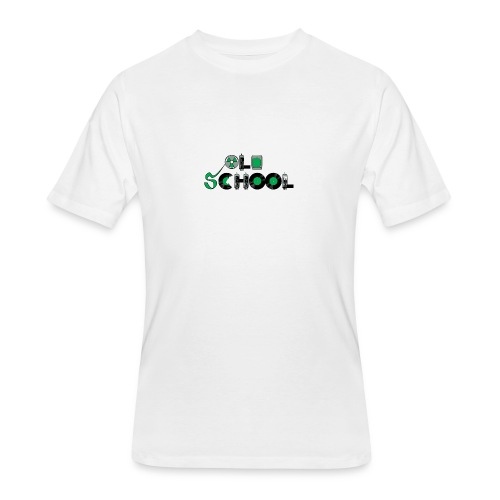Old School Music - Men's 50/50 T-Shirt
