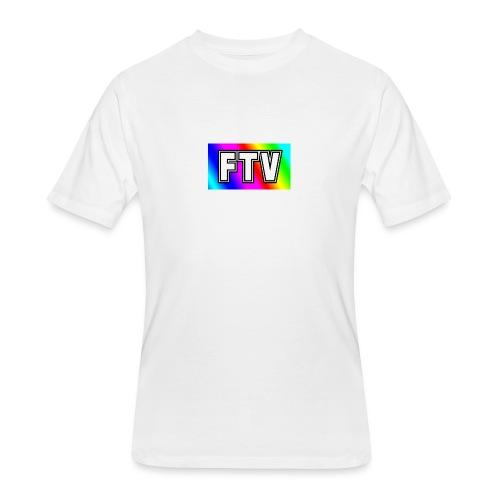 Rainbow white version - Men's 50/50 T-Shirt