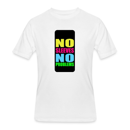 neonnosleevesiphone5 - Men's 50/50 T-Shirt