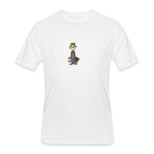 a4 marc logo - Men's 50/50 T-Shirt
