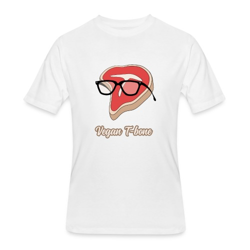 Vegan T bone - Men's 50/50 T-Shirt