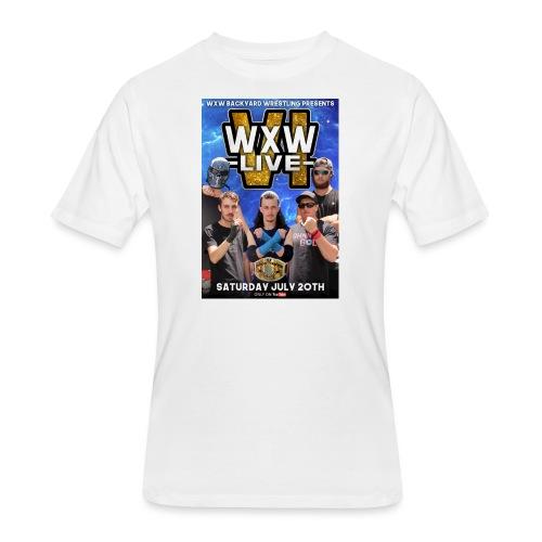 WXW Live VI Poster - Men's 50/50 T-Shirt